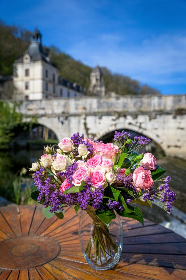 L'inconditionnel, bouquet de fleurs par Glycine 24